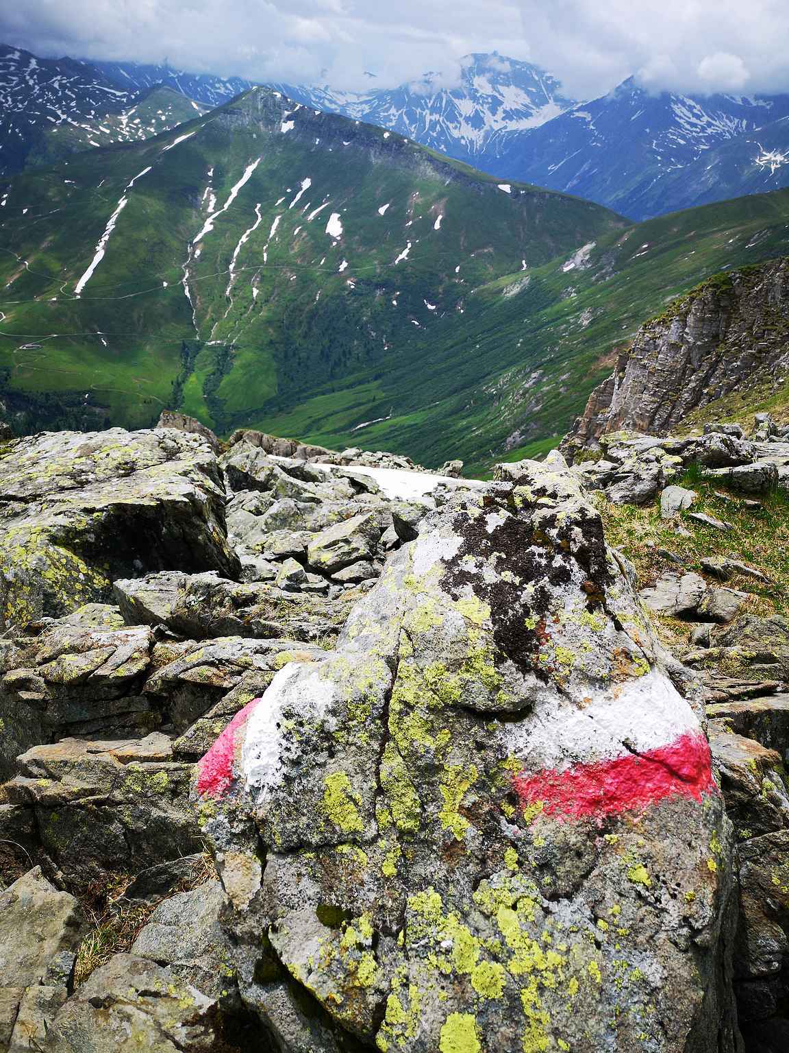 Reittimerkit ovat varsin oleellinen osa vuorilla patikoidessa.