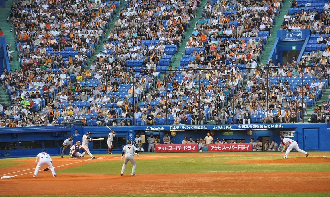 Tokion paikallispelissä lyövät yhteen Yomiori Giants ja Yakult Swallows.