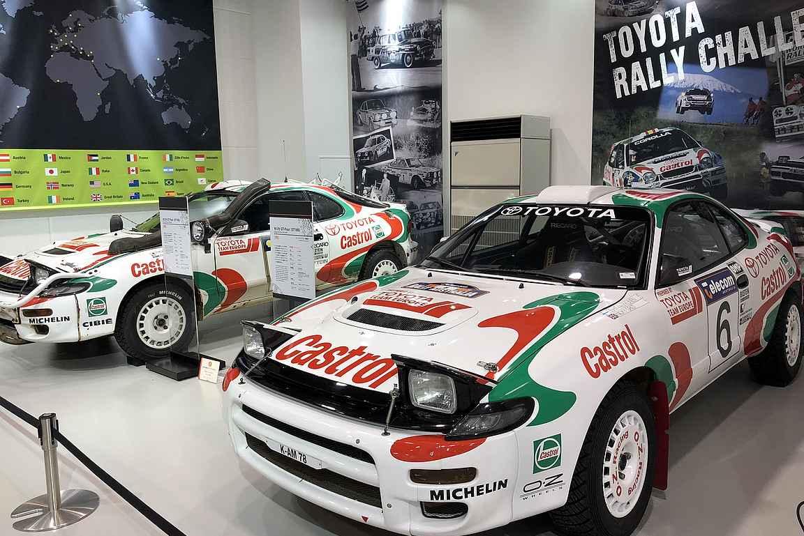 Toyota Mega Web antaa erinomaisen katsauksen autoilun historiaan.