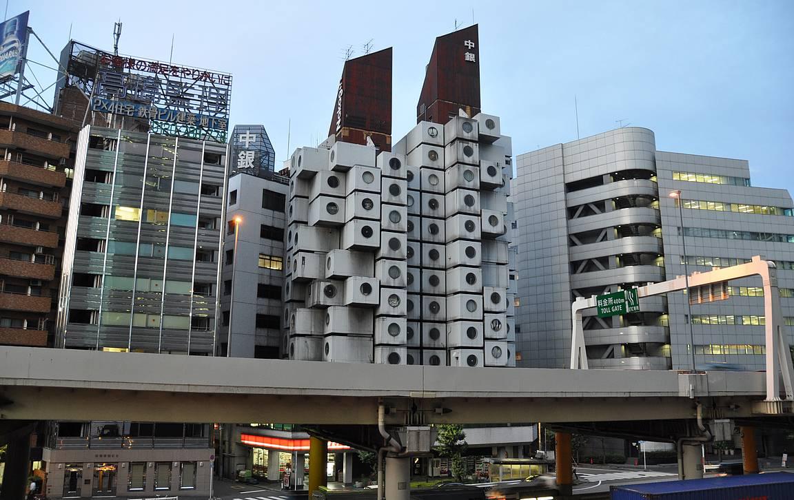 Tokion arkkitehtuuri tarjoaa upeita elämyksiä ympäri kaupunkia.