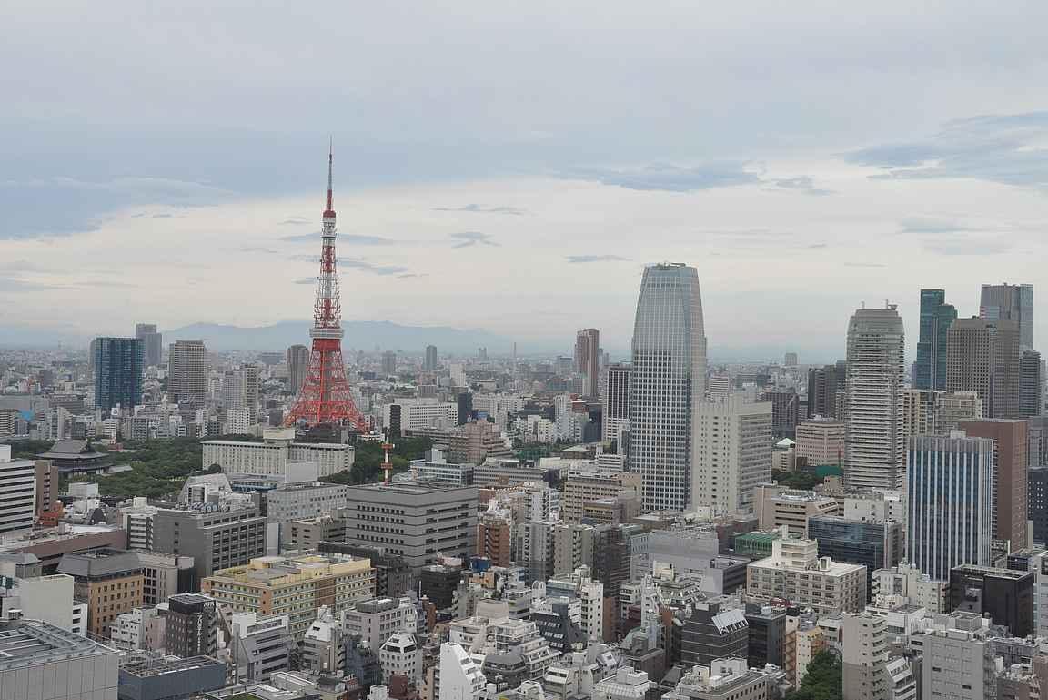 Tokiossa kannattaa harkita vakavasti hotellia, josta on upeat näköalat ympäri vuorokauden.