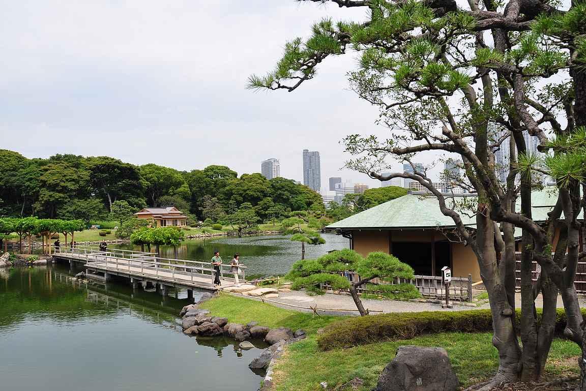 Hamarikyu-puutarha on oma suosikkini Tokiossa.