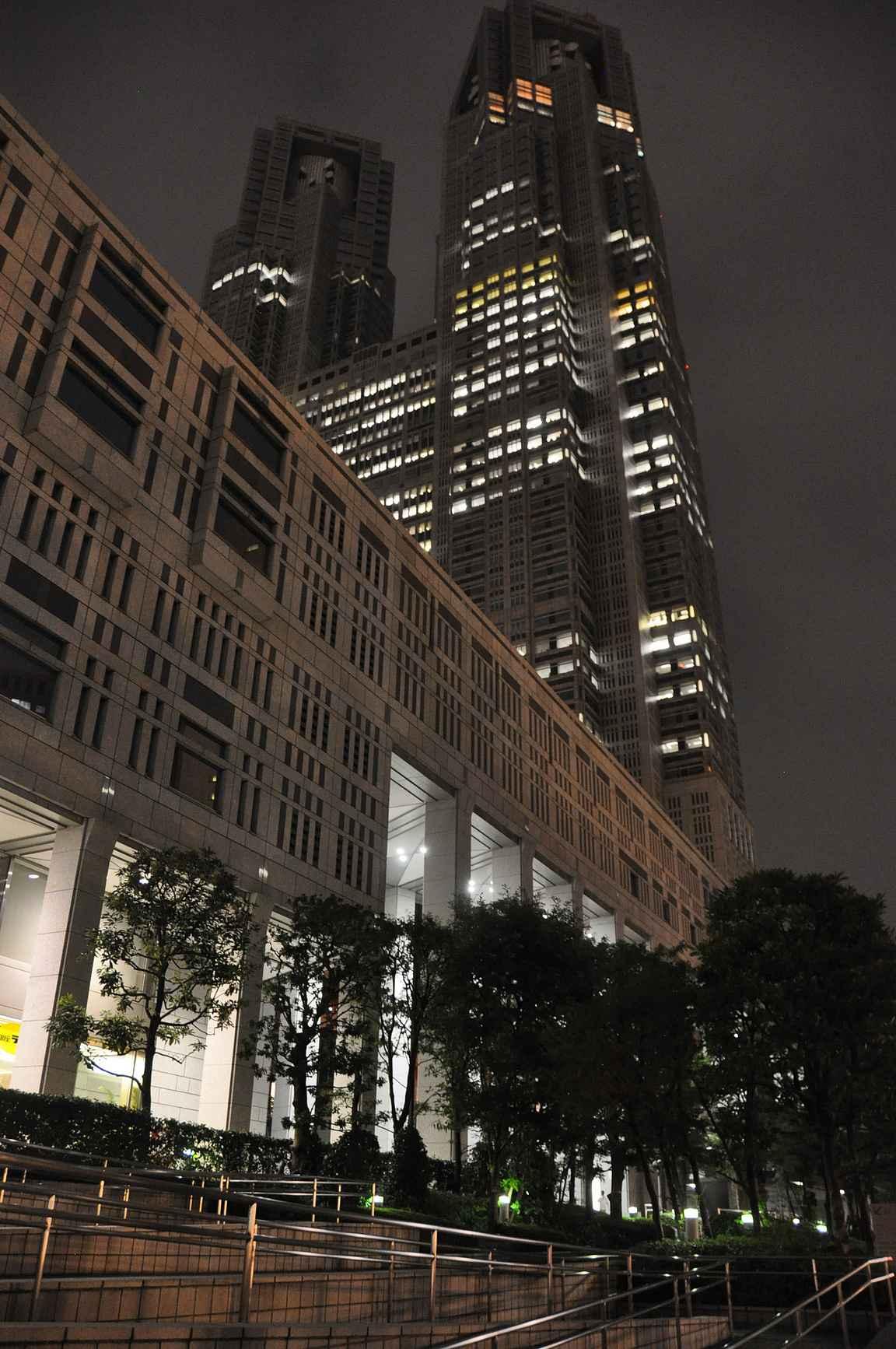 Goverment Buildingin tornit tarjoavat ilmaiset näköalat korkeuksista.