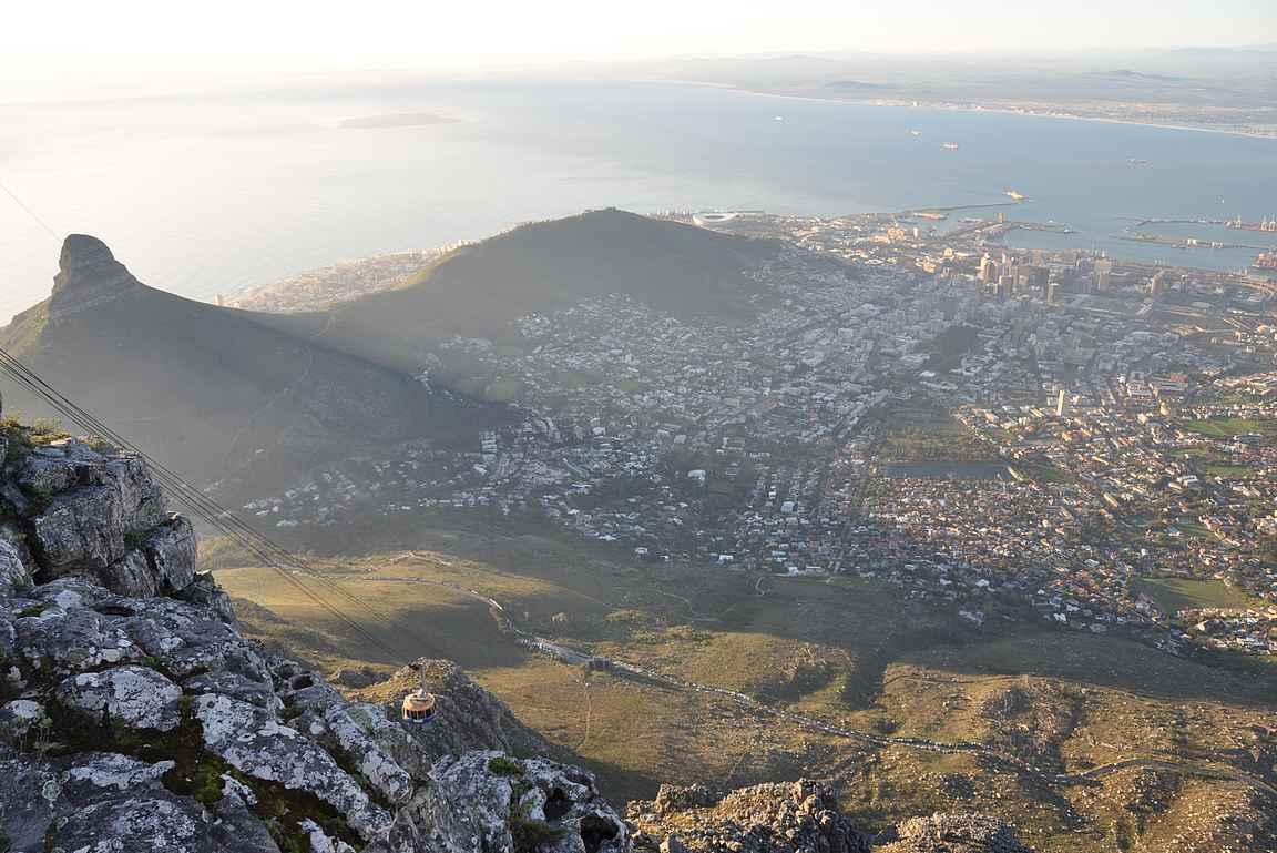 Kapkaupunki on oiva kohde aloittaa Afrikkaan tutustuminen.