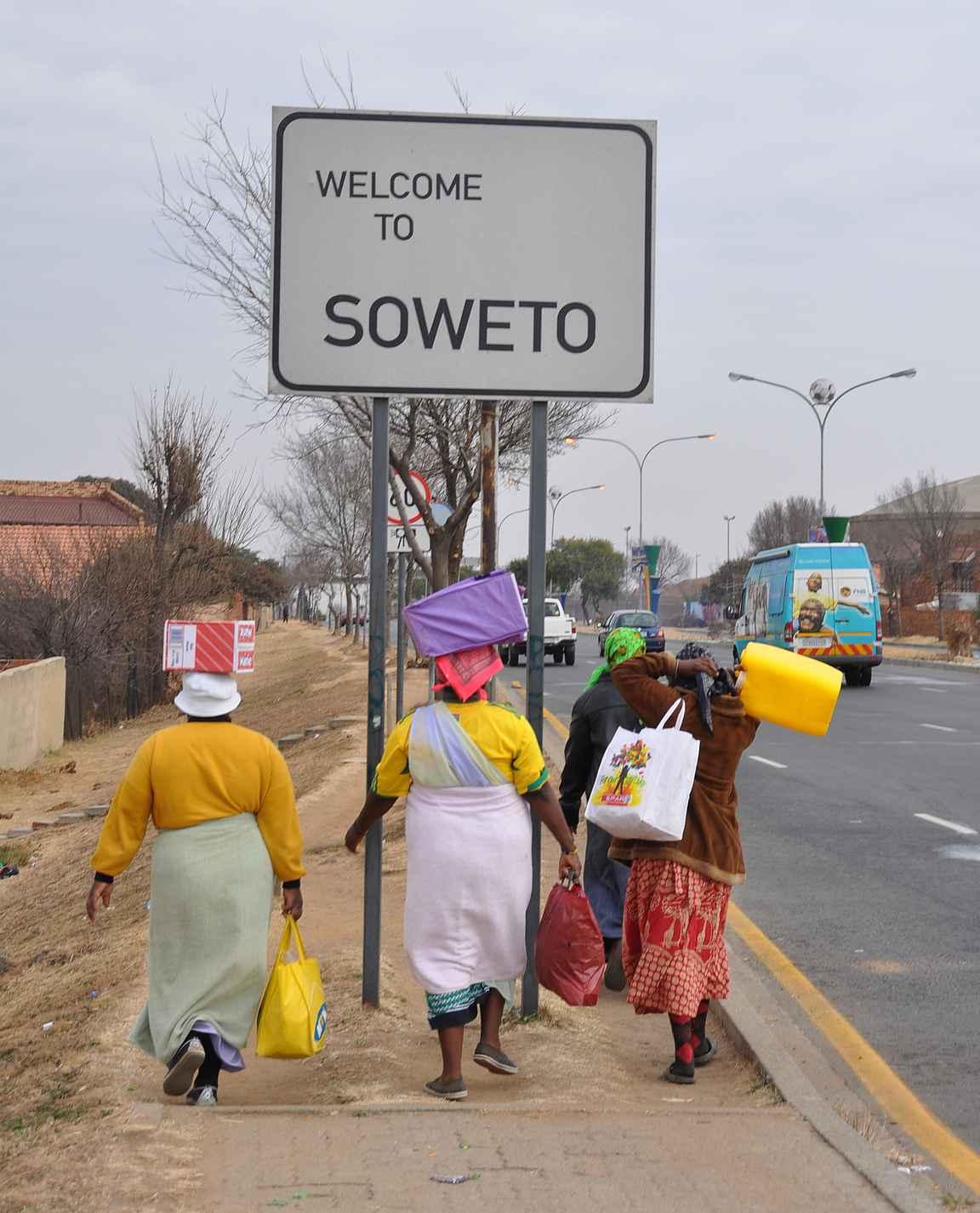 Soweto on maailman kuuluisin township.