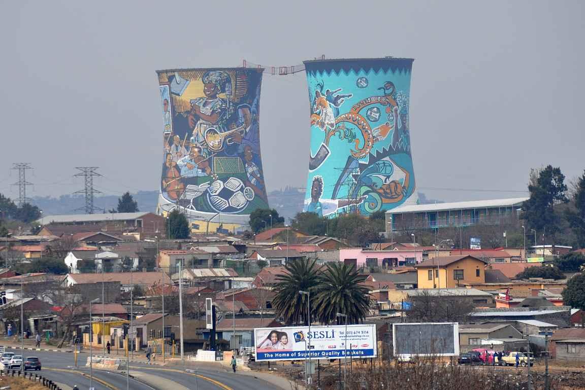 Soweton valokuvattu benjihyppypaikka.