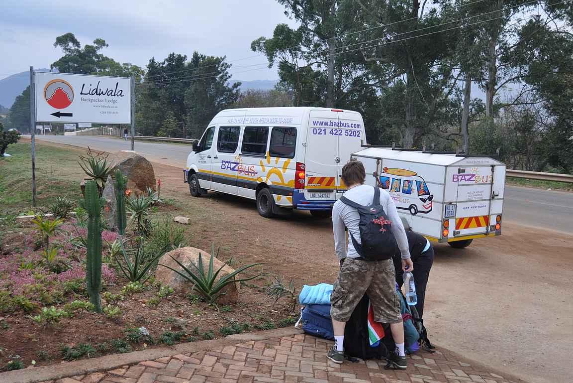 Yhden yön pysähtymistaktiika läpikulkumatkalla Swazimaasta takaisin kohti Etelä-Afrikkaa.