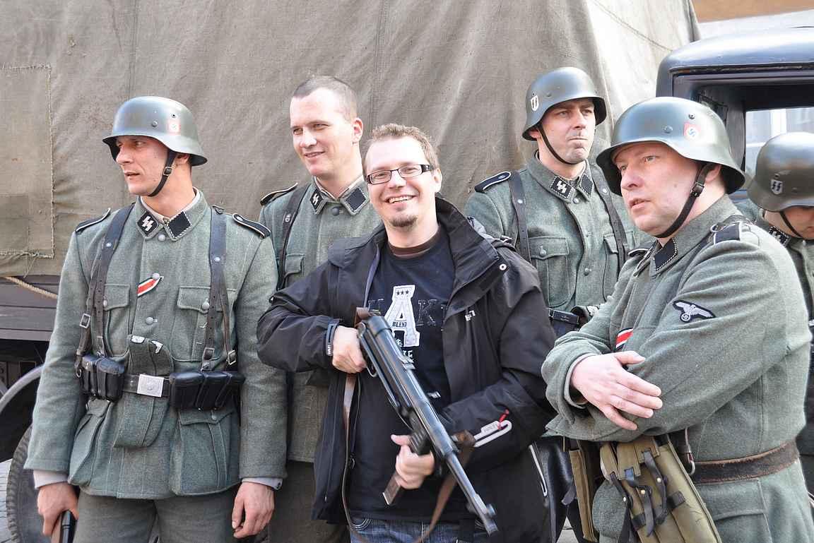 Varsovassa kuvattiin sotaelokuvaa vuonna 2010.