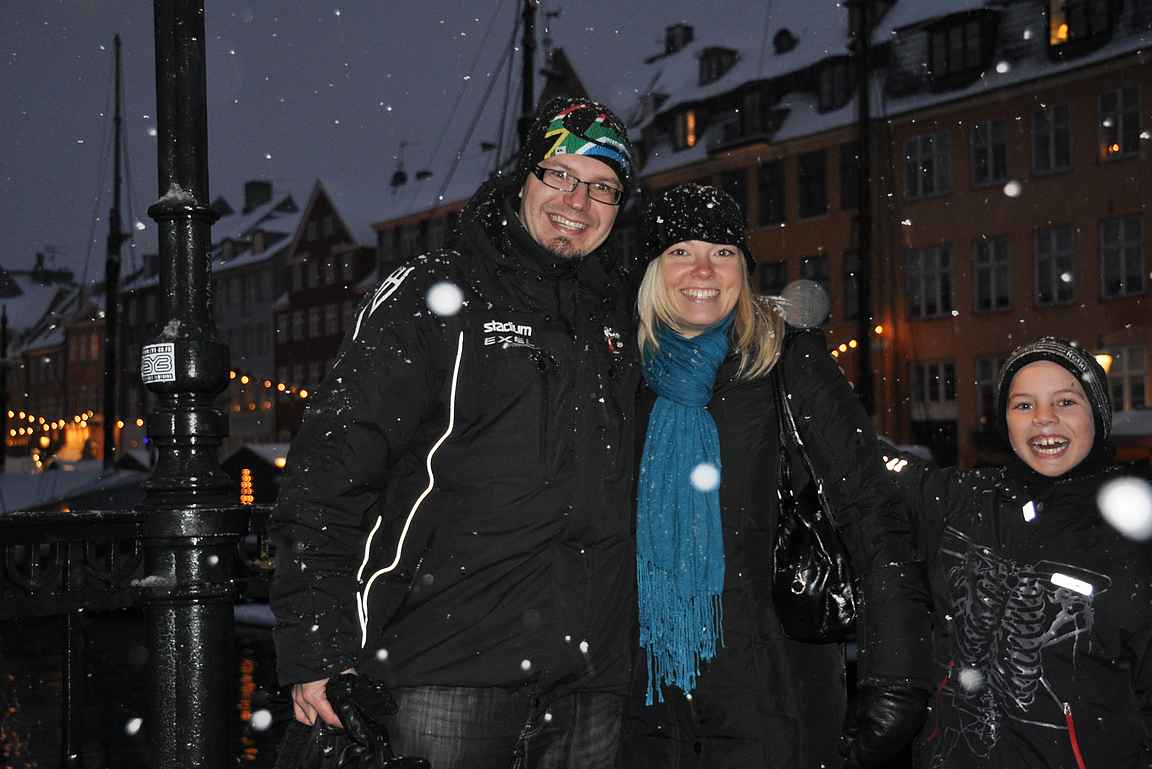 Nyhavnissa joulukuussa 2010.