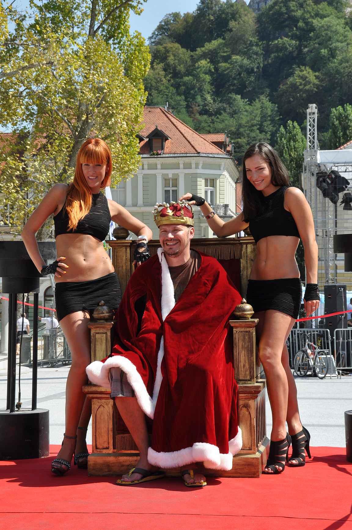 Ljubljanan kuninkaana kesällä 2012.