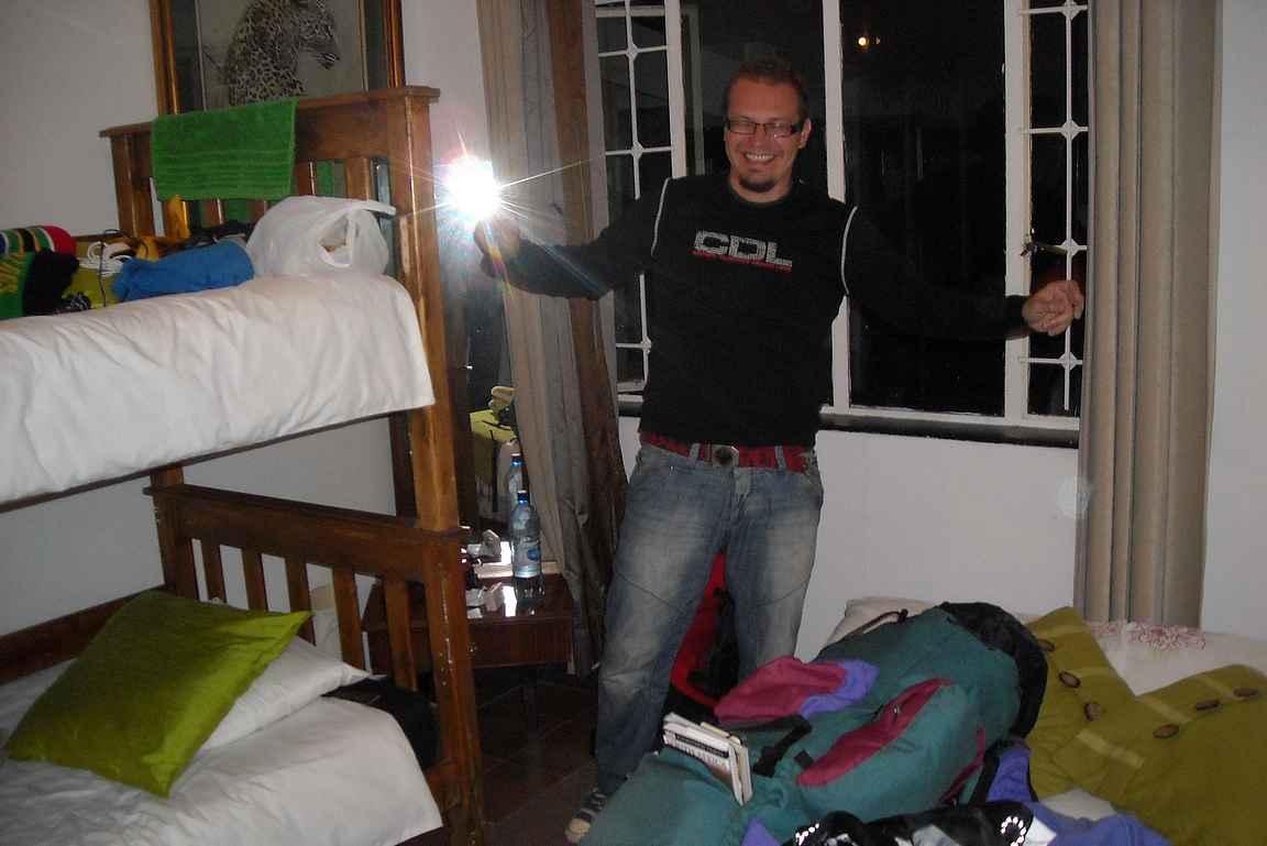 Yhden yön pysähdystaktiikalla Swazimaassa vuonna 2010.