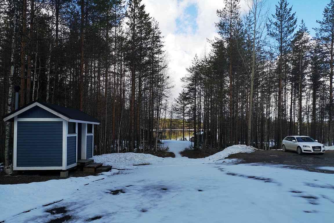 Sammakkotammen parkkipaikka, Tiilikkajärven kansallispuisto