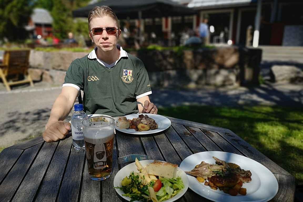 Ravintola Krapihovi ja Kesäravintola Mankeli sopivat hyvin makumatkakohteeksi Tuusulassa.