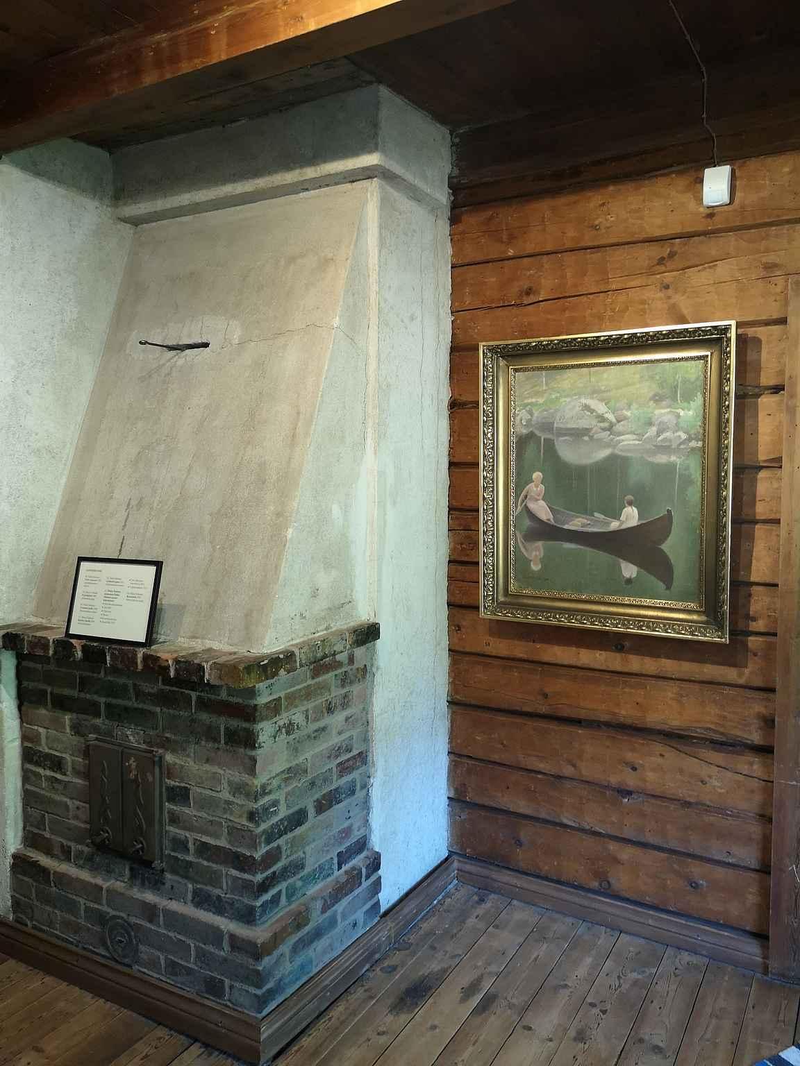 Halosenniemi on täynnä mielenkiintoisia yksityiskohtia ja upeita taideteoksia.