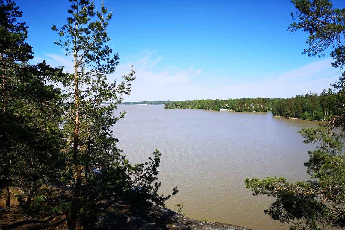 Sarvikallion maisemat Tuusulanjärvelle on ikuistanut monet taiteilijoista.