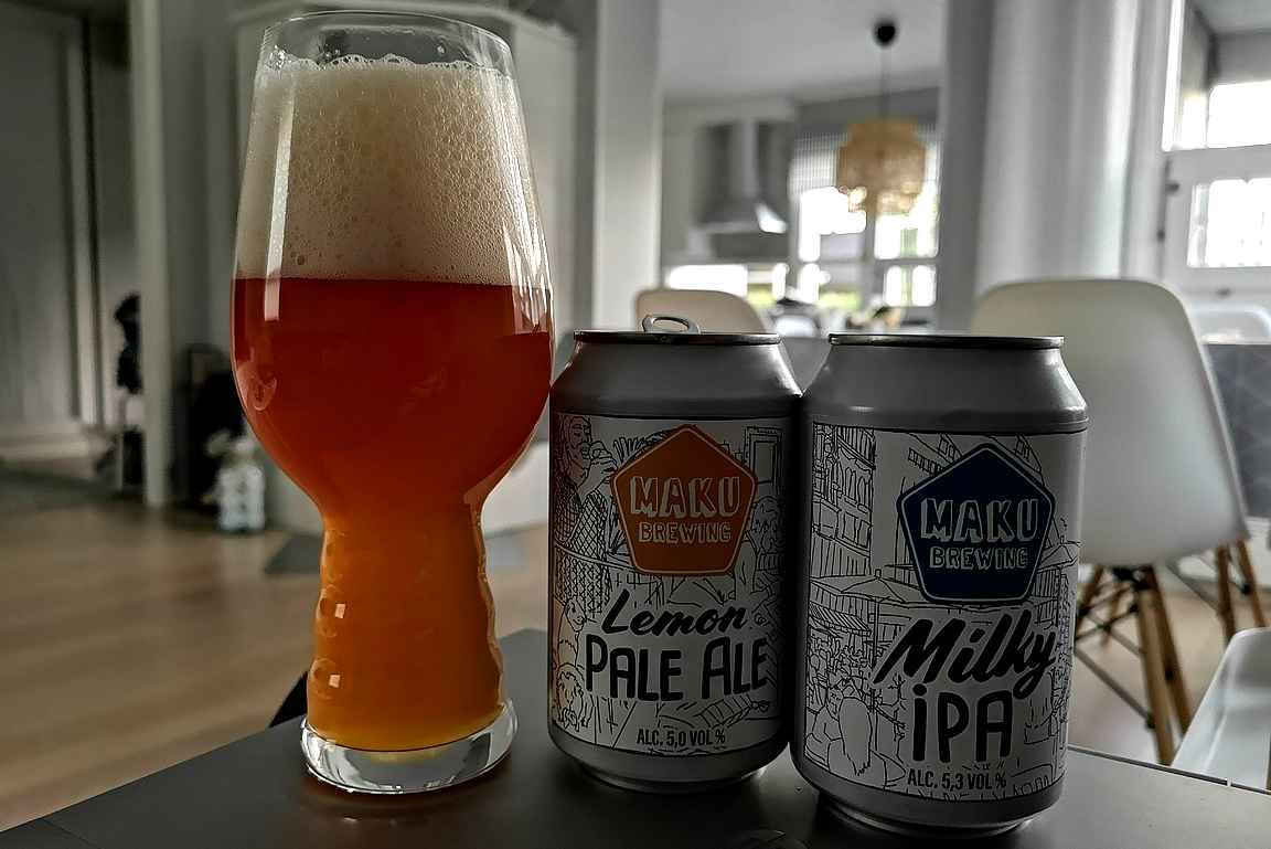 Oluenmakuinen unelmareissu päätyi kotisohvalle tuusulaisen Maku Brewingin pienpanimo-oluiden seuraan.