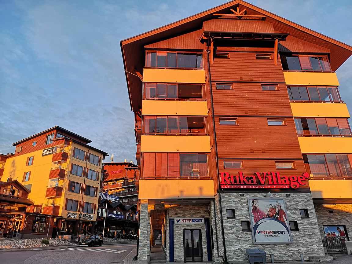 RukaVillage sijaitsee Rukan kävelykylässä.