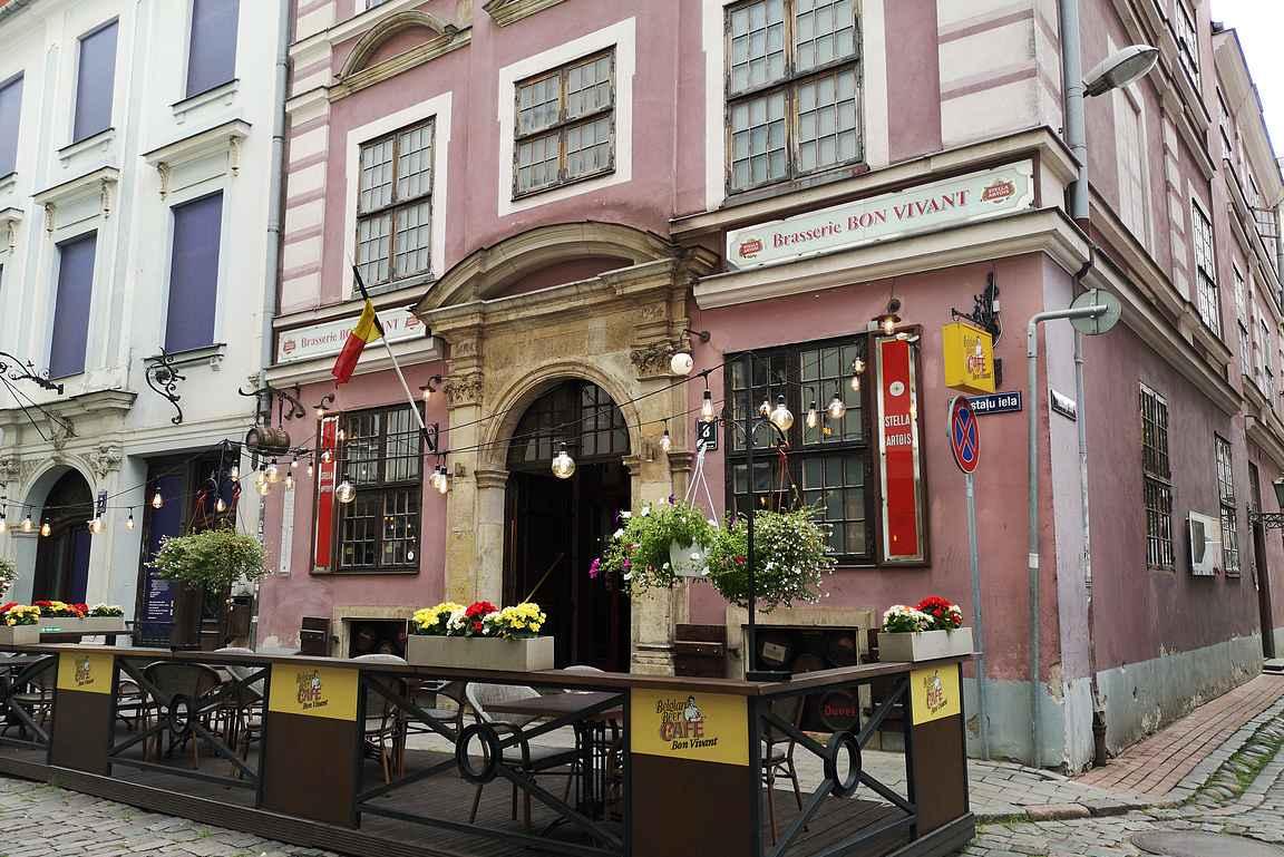 Brasserie Bon Vivant on kaupungin paras belgialainen olutravintola.