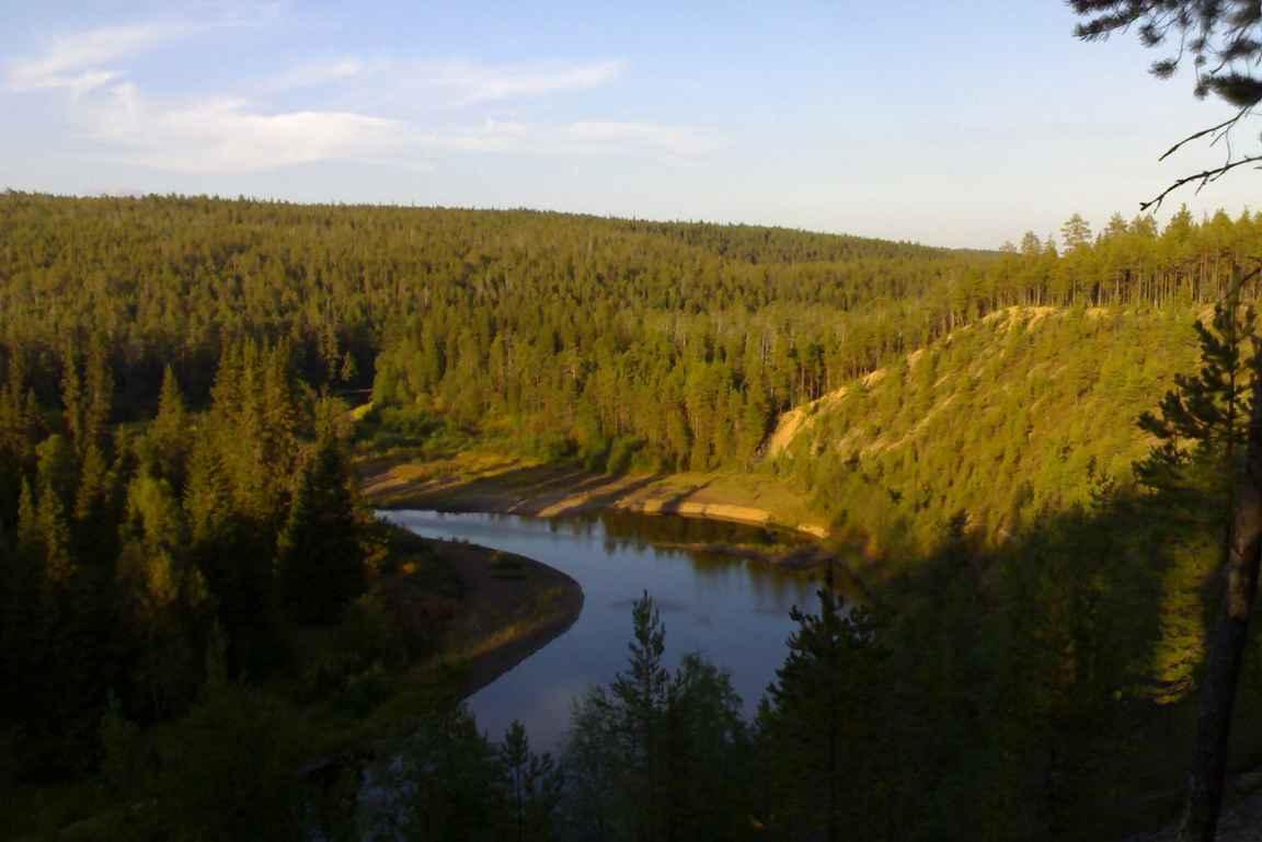 Karhunkierroksen maisemat ovat Kuusamoa parhaimmillaan.