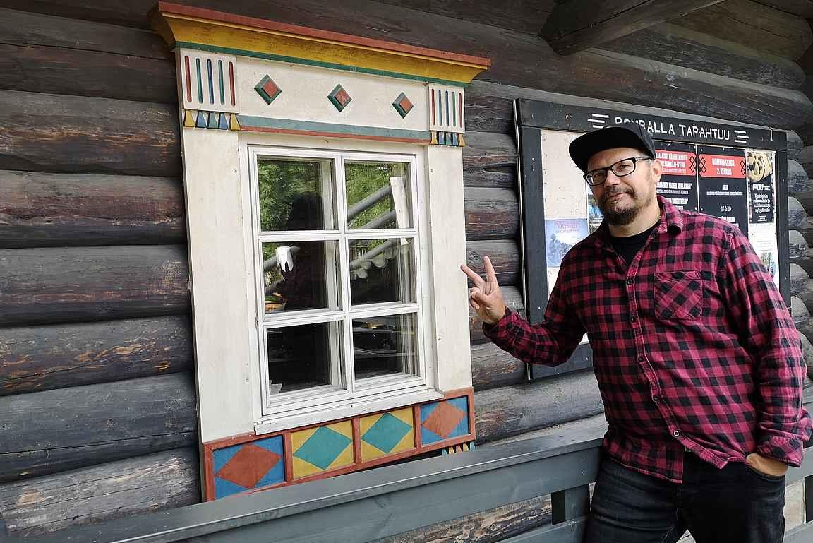Bomban talosta oli hyvä aloittaa tutustuminen karjalaiseen kulttuuriin ja Pohjois-Karjalaan.