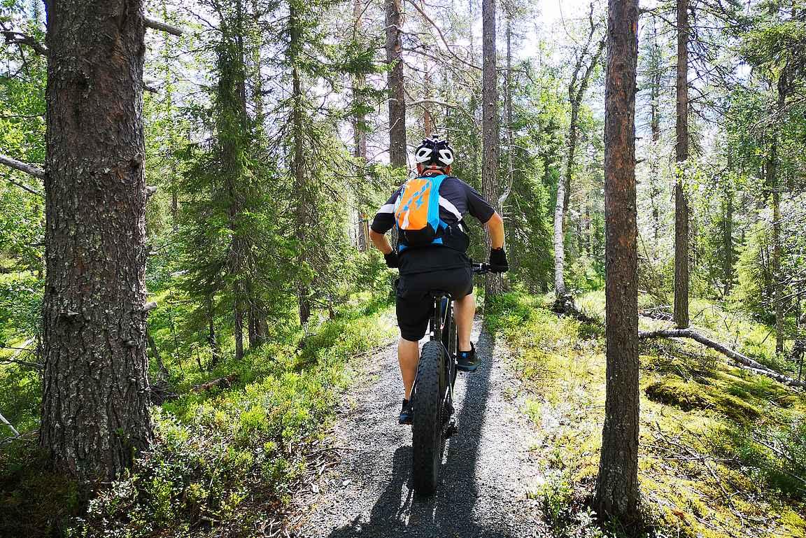 Sopivalla reittivalinnalla saa pyöräilystä eniten irti.