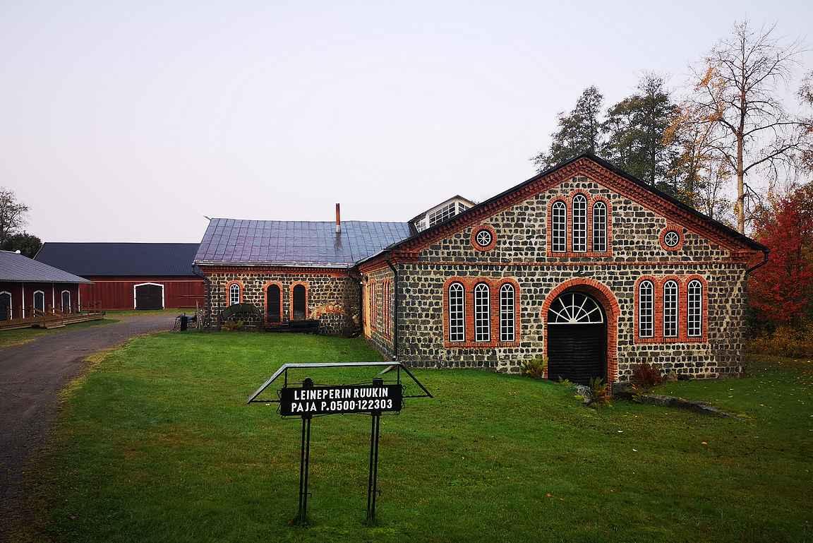 Leineperin ruukki on yksi Ulvilan mielenkiintoista nähtävyyksistä.