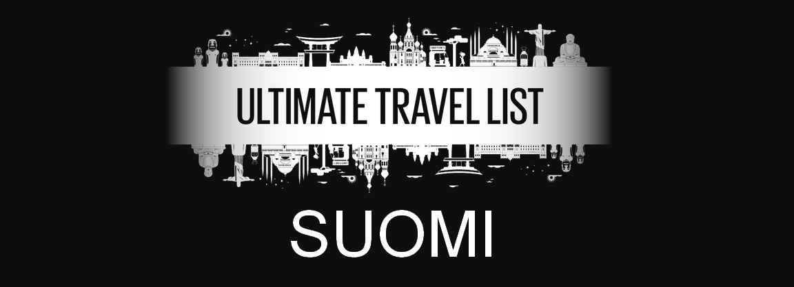 Ultimate Travel List Suomi