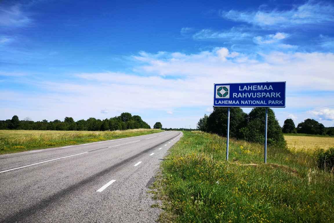 Lahemaan kansallispuisto Tallinnan itäpuolella.