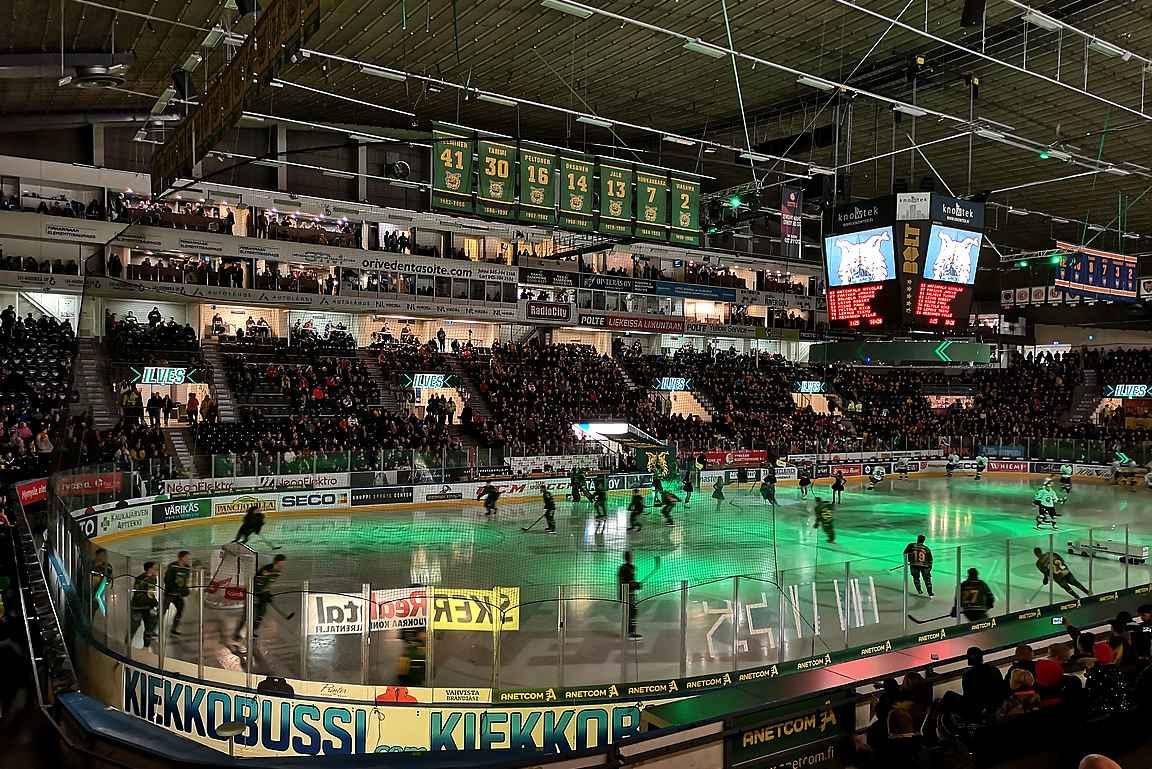Hakametsän jäähalli vaihtuu vuoden kuluttua Uros Live areenaan.