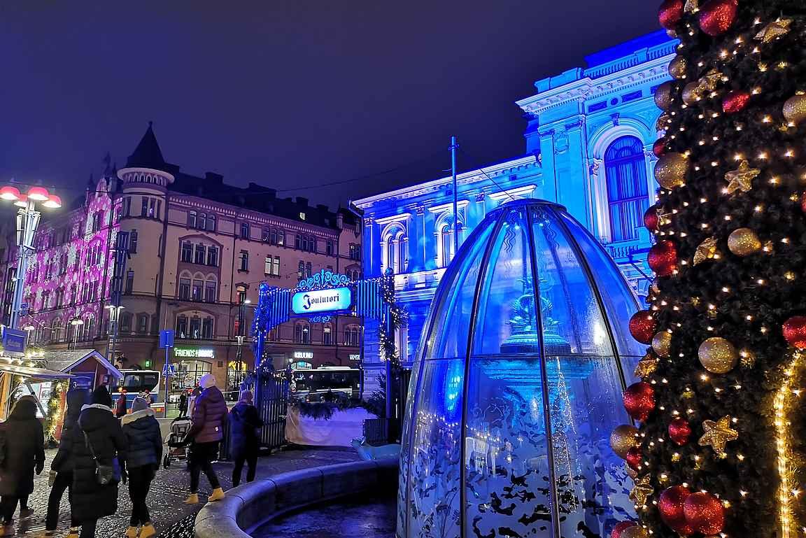 Rauhaisaa joulua ja onnellista uutta vuotta 2021!