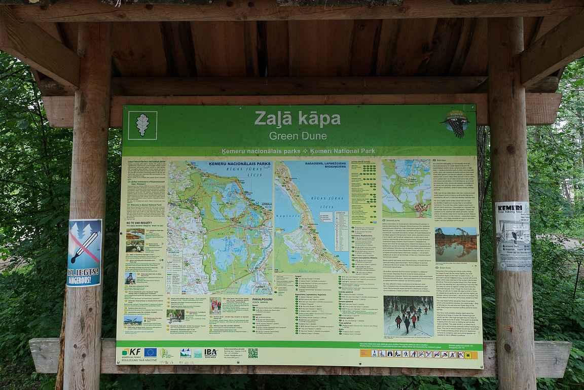 Kemerin kansallispuisto Latviassa.