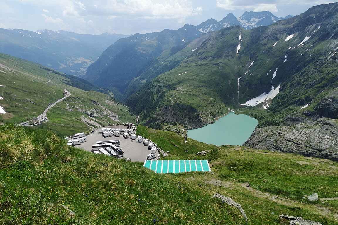 Franz-Josephs-Höhellä maisemat ovat todella upeat moneen suuntaan!