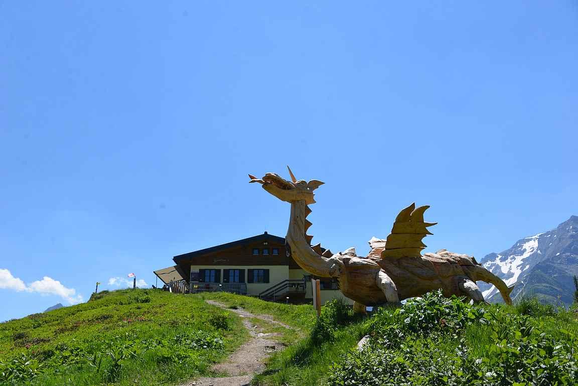 Bockhatseehüttea vartioi lohikäärme.