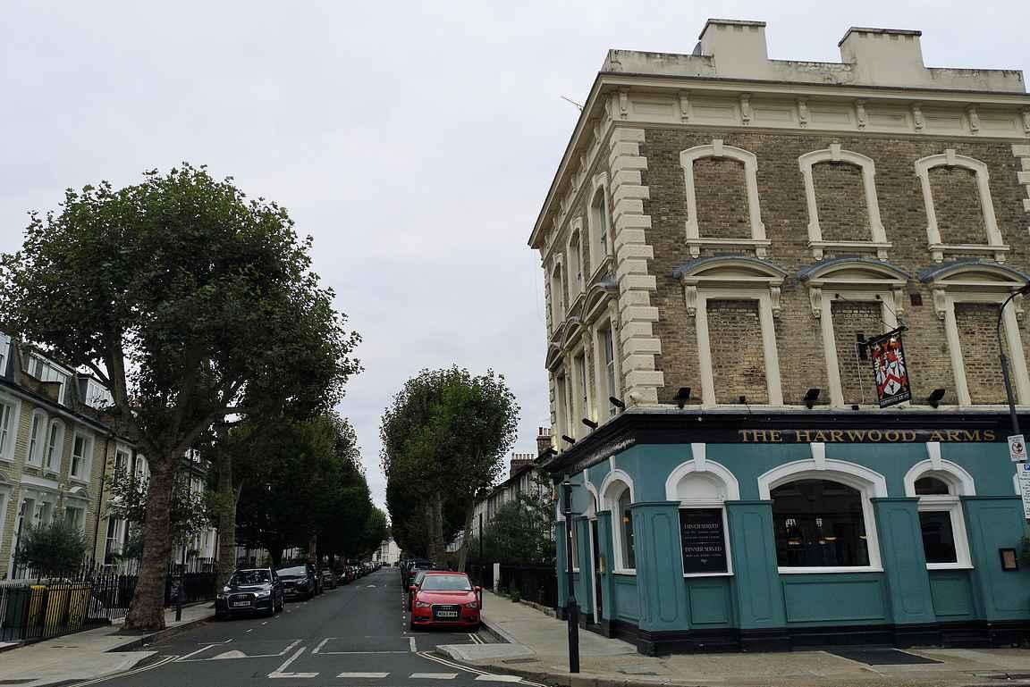 The Harwood Arms Fulhamin kaupungiosassa omaa yhden Michelin-tähden.