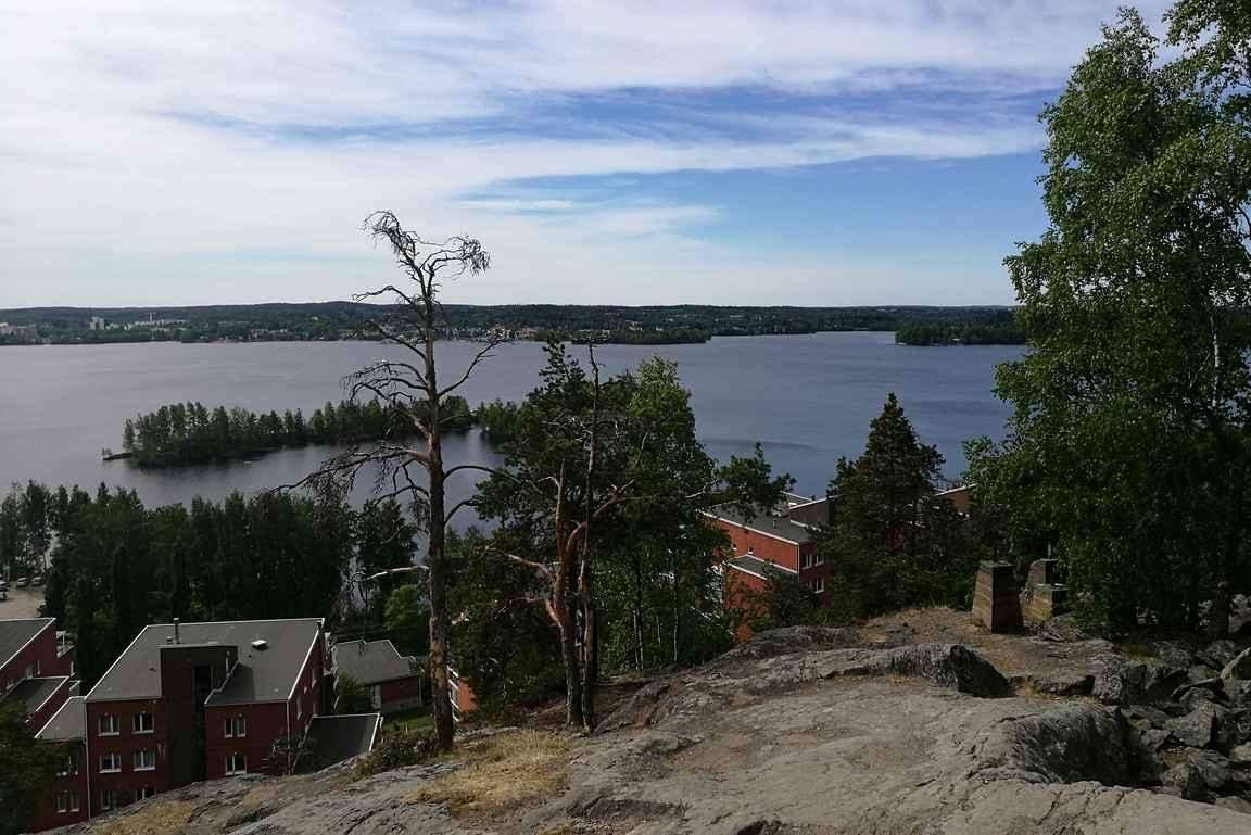 Pyynikin luonnonsuojelualue on Tamperetta kauneimmillaan.