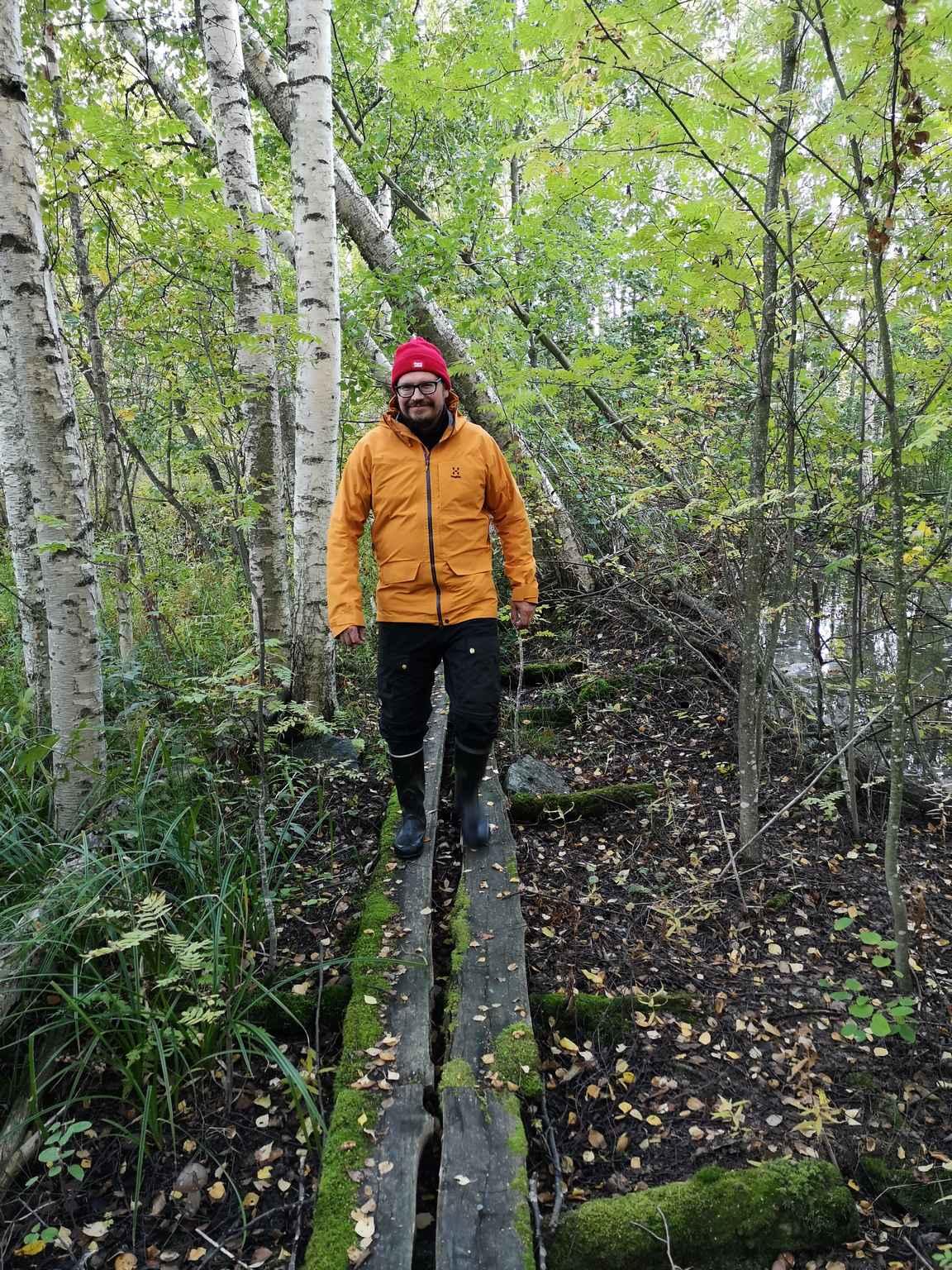 Härmälästä löytyy myös Vähäjärven lintulaiturin ympäristöstä käytöstä poistetut pitkospuut, joilla pääsee todelliselle viidakkoseikkailulle.