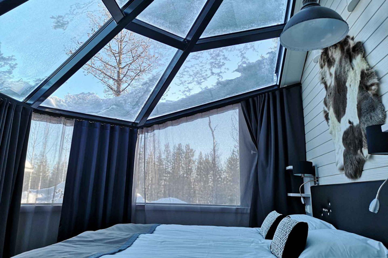 Santa's Igloos - lasi-iglu hotelli Rovaniemellä