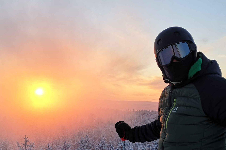 Talviloma Rovaniemellä - Lappi alkaa Ounasvaaralta
