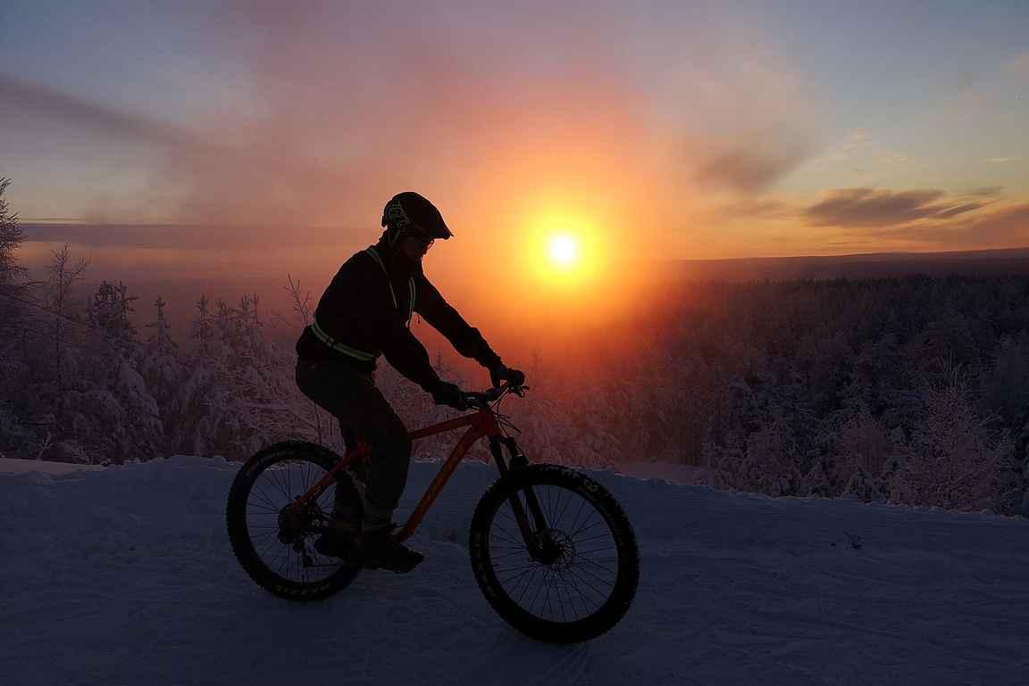 Rovaniemi ja Ounasvaara kutsuu aktiivilomailemaan talvella.