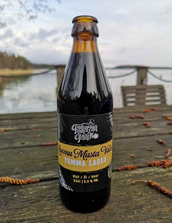 Saunomisen yhteydessä maistui paikallisen Fiskarsin panimon palauttava olut.