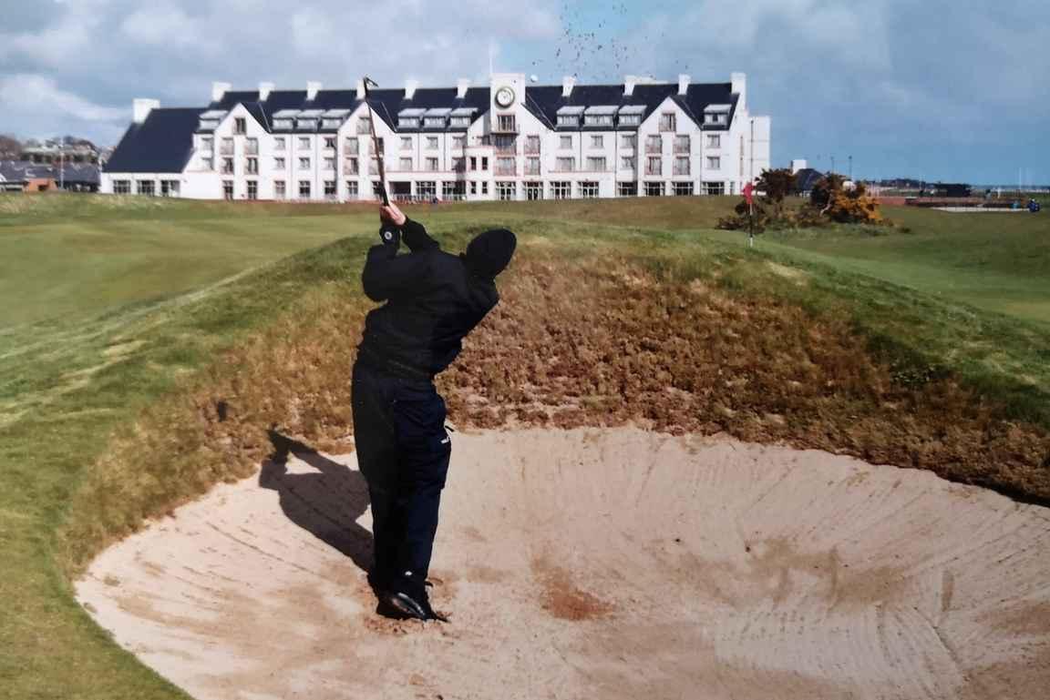 Carnoustie Championship Course - maailman parhaimpia ja vaikeimpia golfkenttiä.