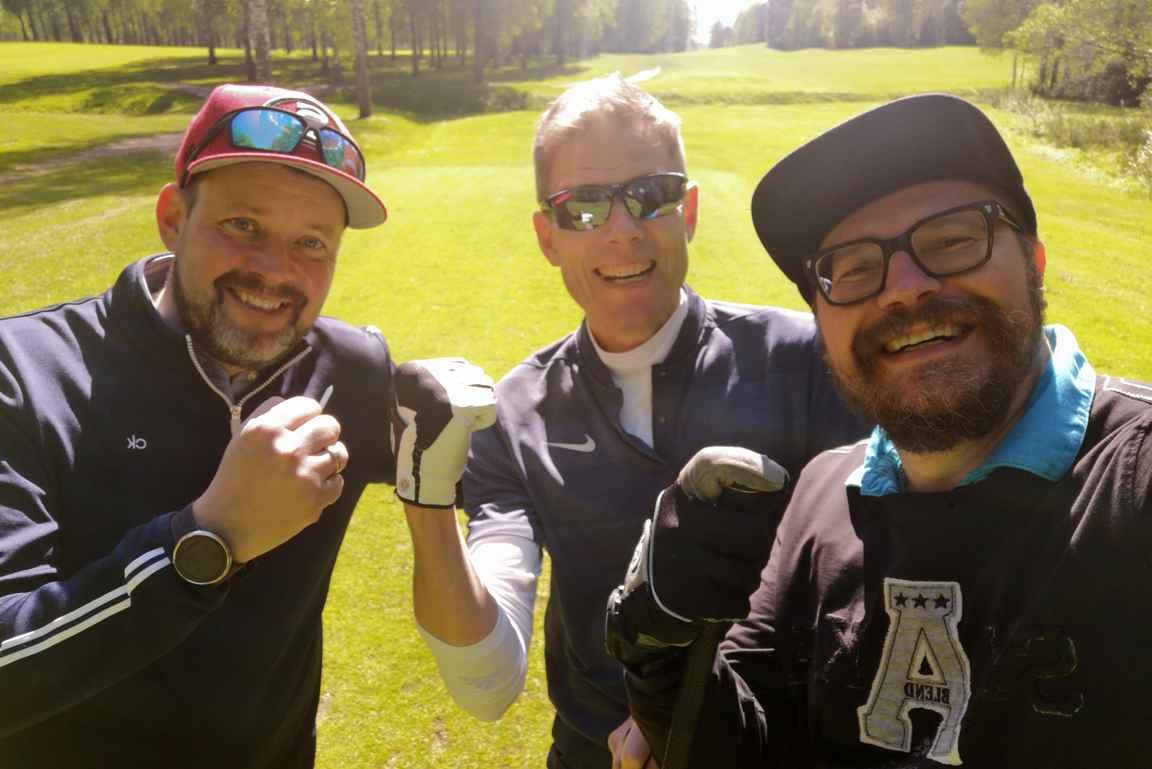 Saimaankin golfreissulta irtoaa tarinoita myöhemmin muisteltavaksi.