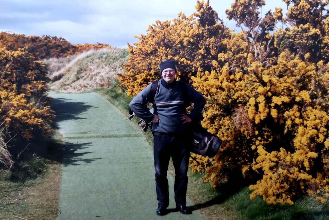 Golfreissulla maailmalla - tällä kerralla golfin kodissa St. Andrewsissa.