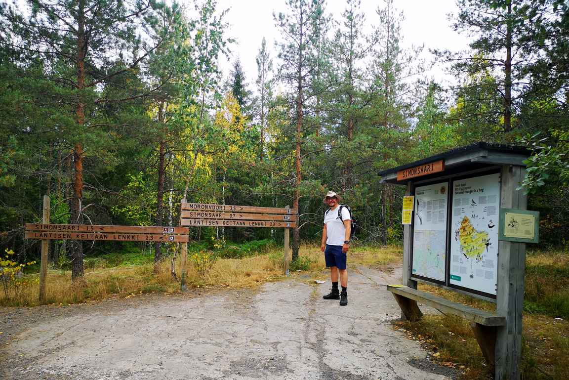 Valkmusan kansallispuiston läntisen keitaan lenkki osui sopivasti Kaakkois-Suomen kiertomatkalle.