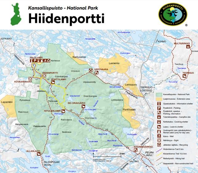Hiidenportin kansallispuisto copyright Metsähallitus