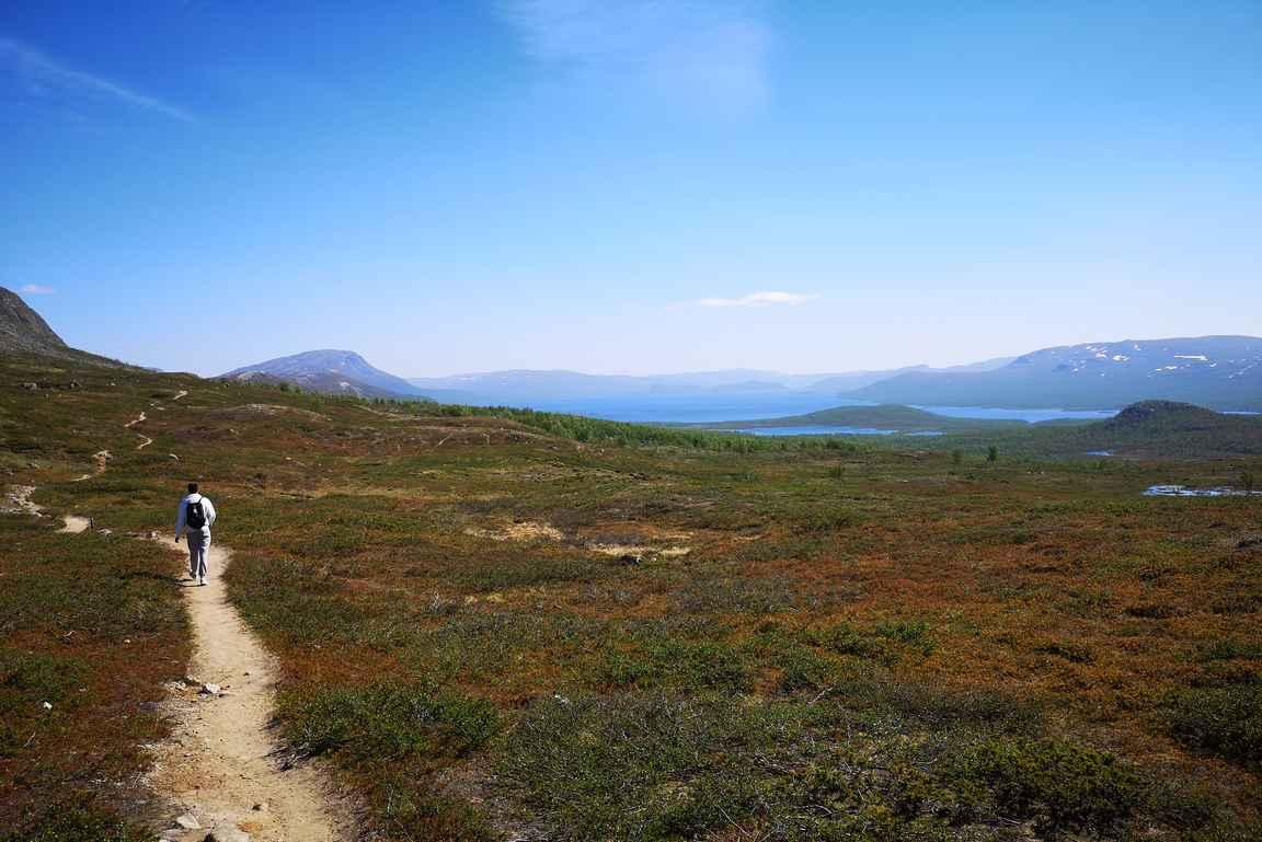 Mallan polku on osa Suomen, Ruotsin ja Norjan tuntureilla kulkevaa 800 kilometriä pitkää Kalottireittiä.